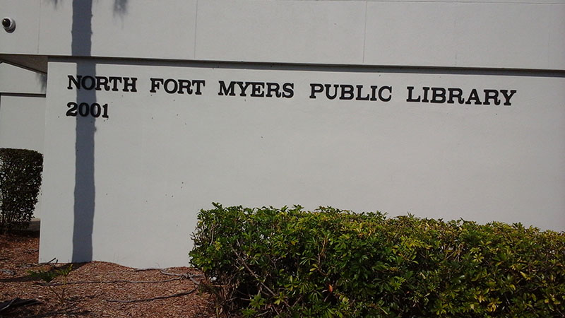 North Fort Myers Public Library, North Fort Myers, FL, Florida