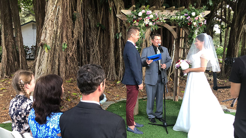 01-04-2019, Friday, January 4th, 2019, Russian Wedding Minister Mikhail, Russian Wedding Ceremony, Wedding Officiant Mikhail, Flamingo Gardens, Davie, Florida