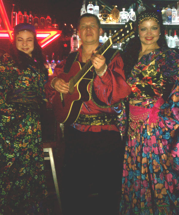 Moscow Gypsy Army, Mikhail Smirnov, Valentina Kvasova, Elina Karokhina, Sunday, April 22nd, 2012, Russian Restaurant and Bar Nasha Rusha NYC, Flatiron District, New York City, 4 W 19th St, New York, NY 10011