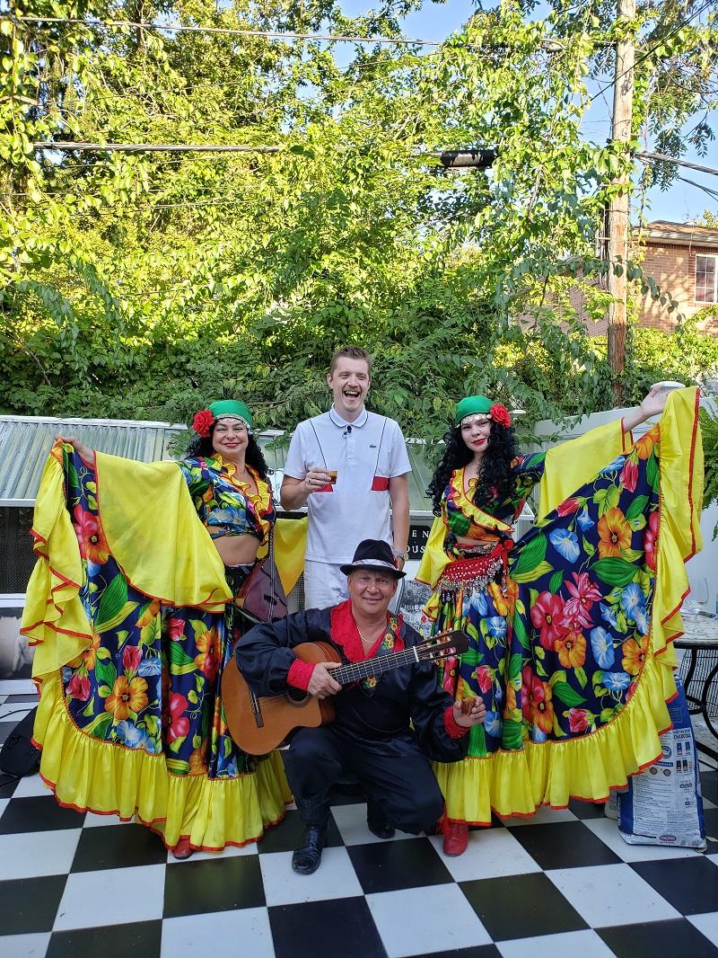 Цыганское шоу Бруклин, Elina Karokhina, Mikhail Smirnov, Алиса Егорова, Saturday, September 12th 2020