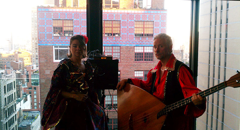 Balalaika Trio NYC, Elina Karokhina, Leonid Bruk, Gansevoort Park Hotel, 420 Park Ave South, New York, NY