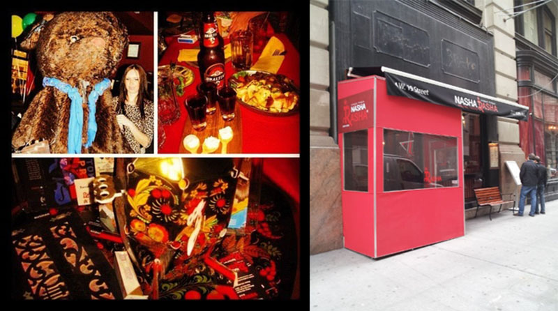 Sunday, April 22nd, 2012, Russian Restaurant and Bar Nasha Rusha NYC, Flatiron District, New York City, 4 W 19th St, New York, NY 10011