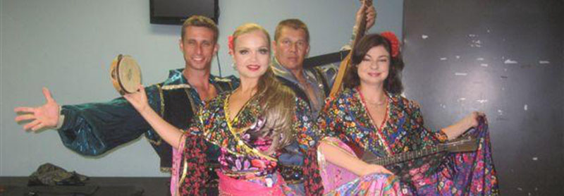 "Contact Info Mikhail Smirnov msmirnov@yahoo.com 201-981-2497, 08-02-2012, August 2nd 2012, Russian-Gypsy ensemble ""Moscow Gypsy Army"" Public performance at The Center For The Arts At The Y, Wayne, New Jersey, Русско-цыганский ансамбль, концерт в северном Нью-Джерси"