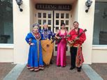 Florida Balalaika Trio, Irina Zagornova, Leonid Bruk, Elina Karokhina, Mikhail Smirnov, Sarasota Opera House, Sarasota, FL