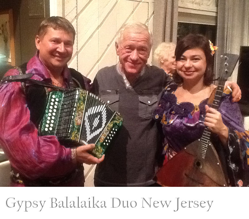 Moscow Gypsy Army, Russian Gypsy Balalaika Duo, Mikhail Smirnov, Elina Karokhina, Yuri Rostov, Saturday, December 7th 2013, 12-07-2013, Bergen County, New Jersey, Mahwah, NJ, Элина Карохина, Михаил Смирнов, Юрий Ростов