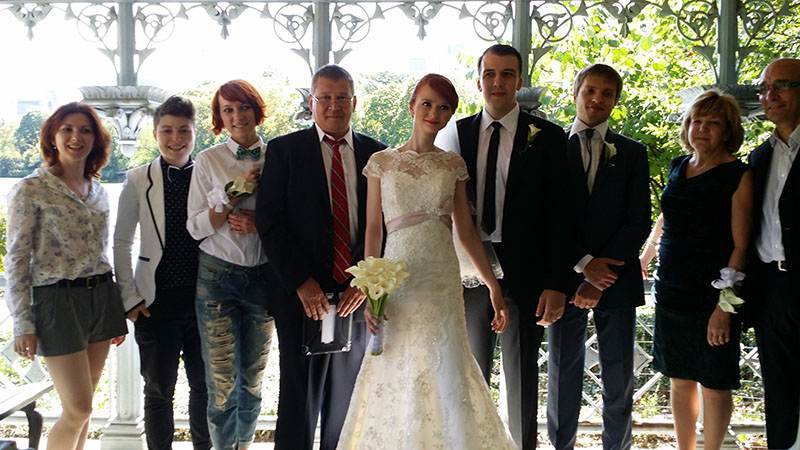 09-12-2014, Friday, September 12th, 2014, Russian wedding, Russian wedding minister, Ladies' Pavilion, Central Park, New York City