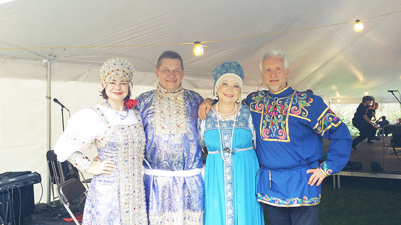 09-21-2014, Balalaika Trio, Mikhail Smirnov, Elina Karokhina, Leonid Bruk, Irina Zagornova, St. Alexander Nevsky Cathedral & Church of Our Lady of Tikhvin, 200 Alexander Avenue, Howell, New Jersey  07731, Sunday, September 21st, 2014