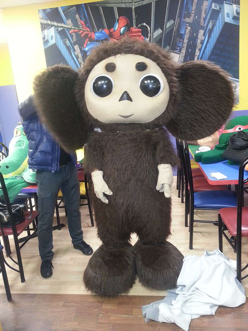 Kid's Place for Birthdays on Coney Island in Brooklyn, New York, Cheburashka, Krokodil Gena, Чебурашка, Крокодил Гена, Бруклин, Нью-Йорк, Brooklyn, New York