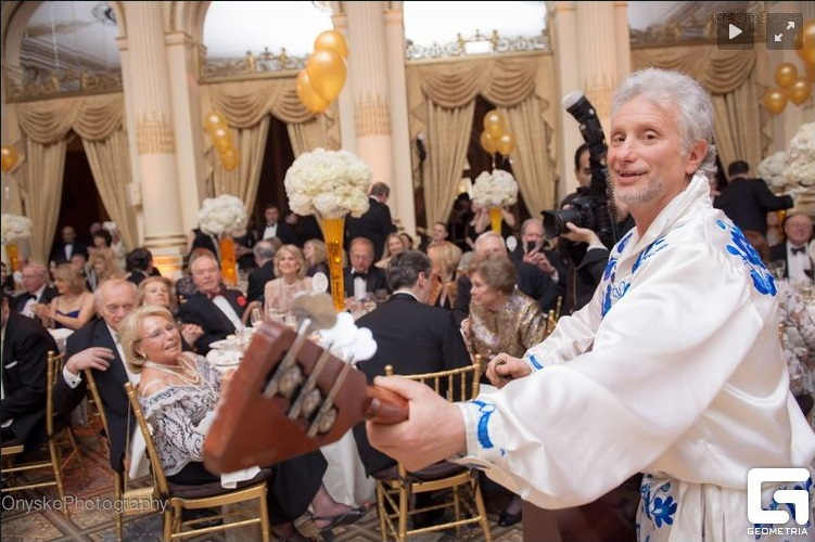 Petroushka Ball 2015, Plaza NYC, Barynya Russian Balalaika Orchestra, New York, Photo from geometria.ru website by Petro Onysko Photography www.onyskophotography.com