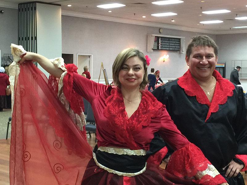 Saturday, February 28th, 2015, Elina Karokhina, Mikhail Smirnov, Polish Community Center, 225 Washington Ave. Ext, Albany NY 12205