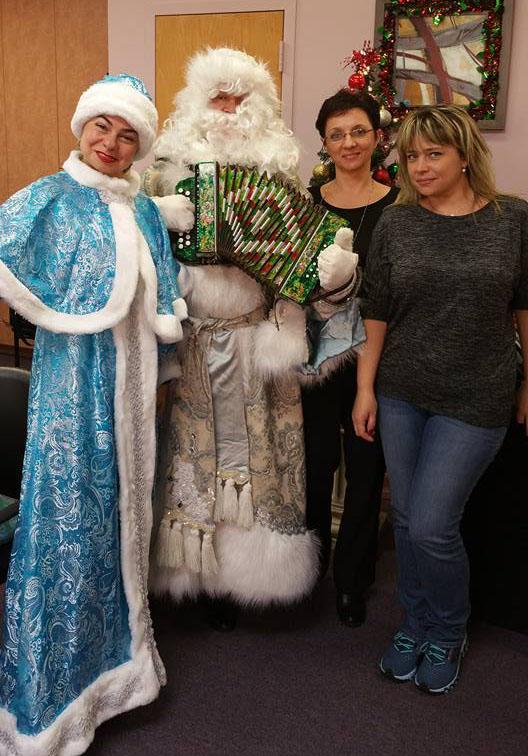Brooklyn, Ded Moroz, Snegurochka, New York, Дед Мороз, Снегурочка, Нью-Йорк, Бруклин