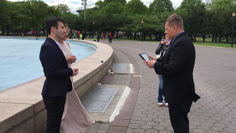 05-15-2016, Russian wedding ceremony, Sunday, May 15th, 2016, Unisphere, Flushing Meadows Corona Park, Queens, New York City
