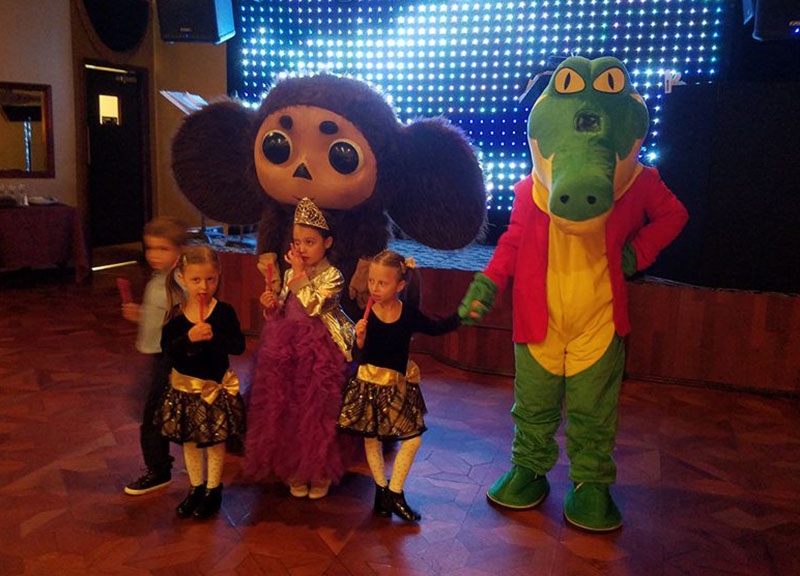 10-16-2016, Cheburashka, Kabaret Restaurant, Middlesex County, New Jersey, Sunday October 16th 2016, 100 Summerhill Road Spotswood NJ 08884, kids birthday party