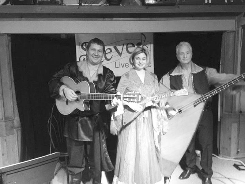 02-12-2016, Leonid Bruk, Elina Karokhina, Mikhail Smirnov, Barynya Balalaika Trio, Steve's Live Music, Sandy Springs, Georgia, Friday, February 12th, 2016
