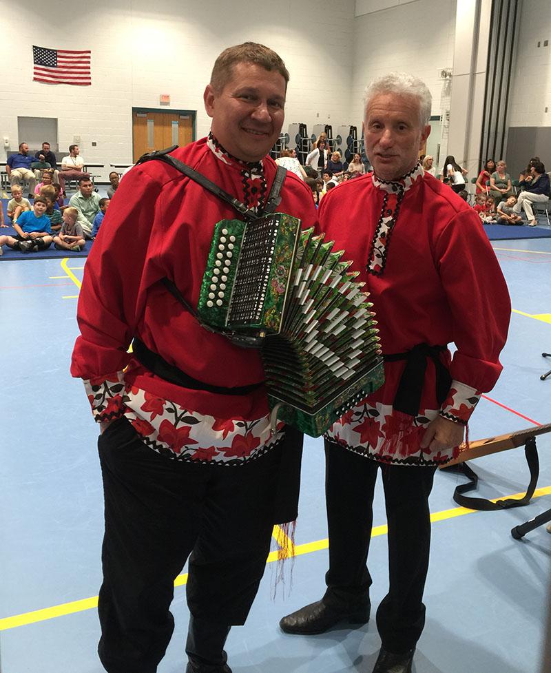 07-20-2016, Balalaika Trio, Bankbridge Elementary School, Gloucester County, New Jersey, Leonid Bruk, Mikhail Smirnov, Wednesday, July 20th, 2016