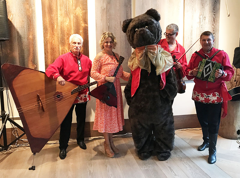 Balalaika Band and Barynya dancers, Corporate event in New York City, 07-12-2017, Wednesday, July 12th, 2017