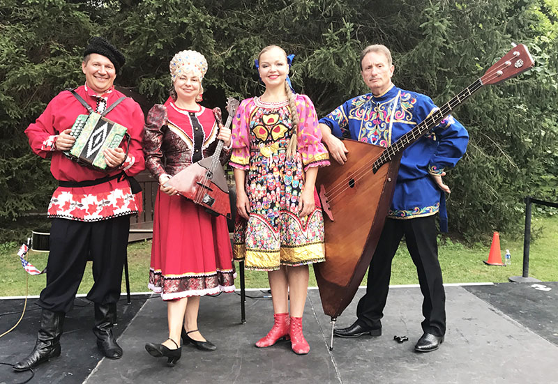 Mikhail Smirnov, Elina Karokhina, Valentina Kvasova, Leonid Bruk, 07-26-2017, Caramoor Center for Music and the Arts, Katonah, New York, 149 Girdle Ridge Rd, Katonah, NY 10536, Wednesday, July 26, 2017