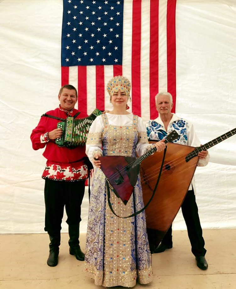 Mikhail Smirnov, Elina Karokhina, Leonid Bruk, Troika Festival, Erie, Pennsylvania, Church of the Nativity Community Center, 109 German Street, Erie, PA