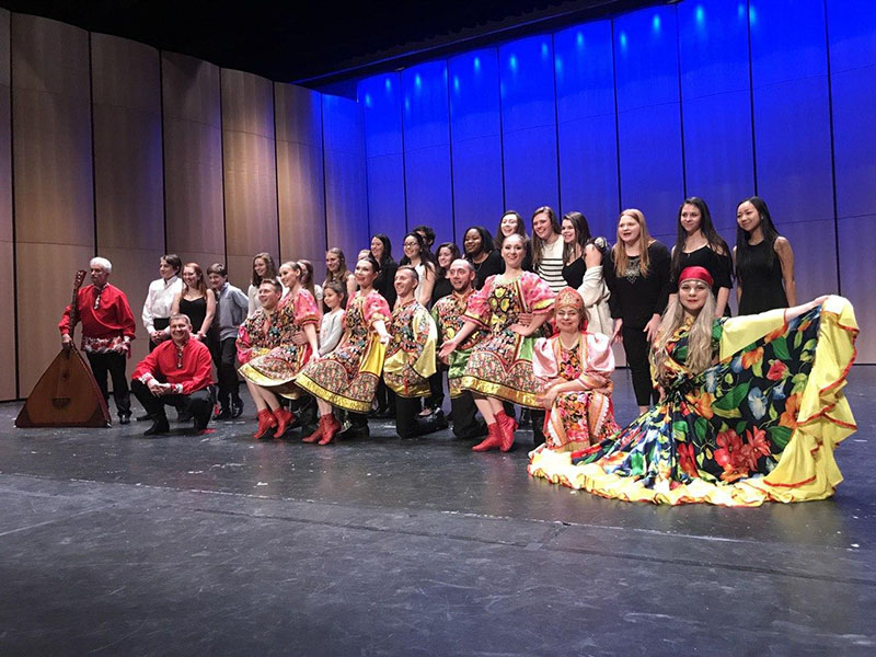 Russian dance and music Ensemble Barynya in Connecticut, Darien High School, Darien, CT, Vladimir Nilitin, Konstantin Tulinov, Serhiy Tsyganok, Simona Zhukovski, Olga Chpitalnaia, Dinara Subaeva, Leonid Bruk, Alisa Egorova, Elina Karokhina, Mikhail Smirnov