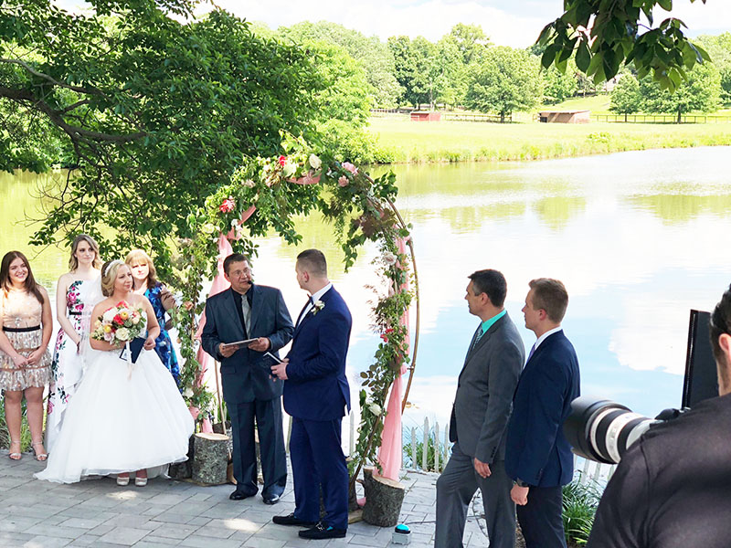 06-15-2018, Friday, June 15th, 2018, Russian Wedding Officiant Mikhail, The Estate at Eagle Lake, Chesterfield, New Jersey, Burlington County, 214 Sykesville Road, Chesterfield, NJ 08515