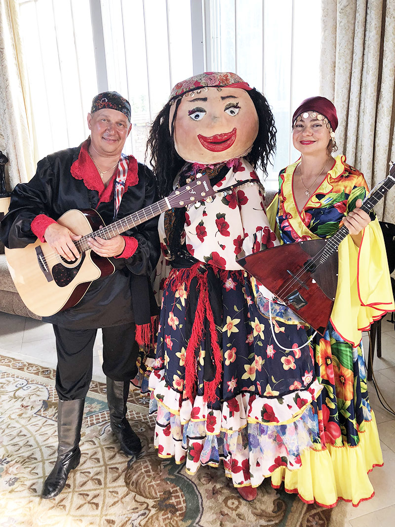 Saturday, August 18, 2018, Russian Gypsy Trio Upstate New York, Gypsy themed party, Elka Park, NY
