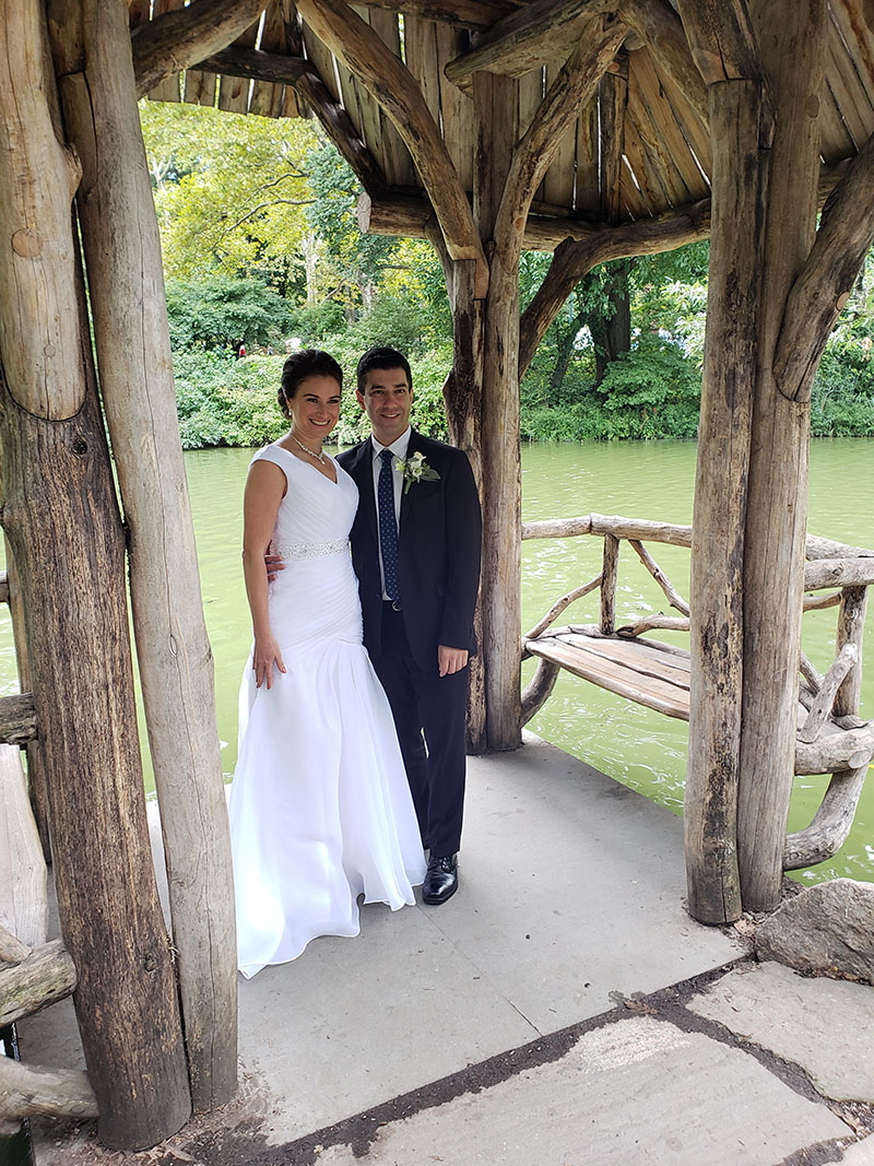 09-08-2018, Saturday, September 8th, 2018, Russian Wedding Minister Mikhail, Central Park New York City