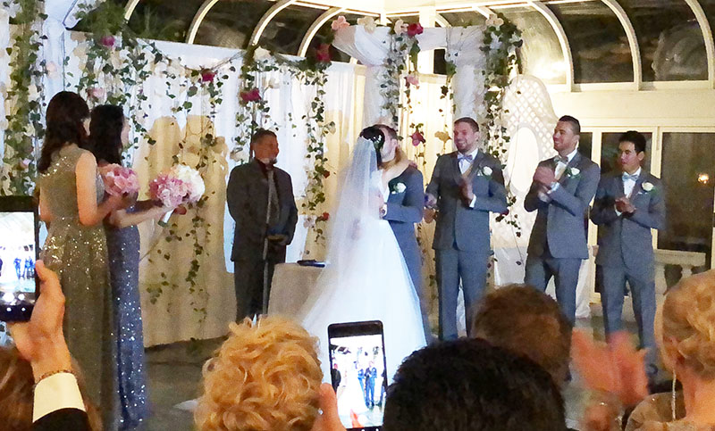 10-05-2018, Friday, October 5th, 2018, Russian Wedding Officiant Mikhail, Grand Prospect Hall, 263 Prospect Avenue, Brooklyn, NY 11215