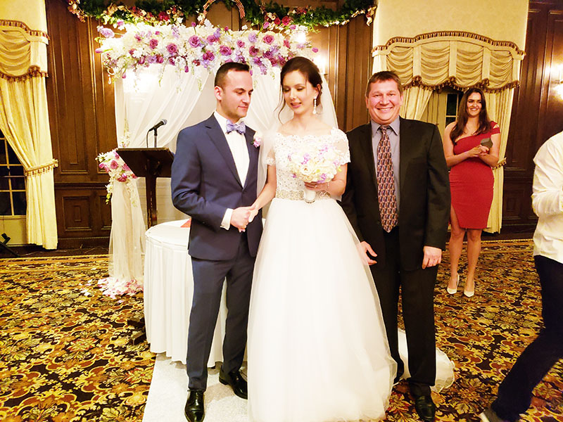 12-22-2018, Saturday, December 22nd, 2018, Russian Wedding Officiant Mikhail, Birchwood Manor, Morris County, Whippany, New Jersey, 111 N Jefferson Rd, Whippany, NJ 07981