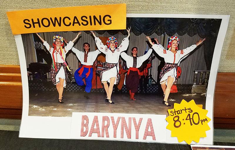 Ensemble Barynya, 01-13-2018, New York Hilton Midtown, New York, NY.  APAP showcase, Saturday, January 13th, 2018