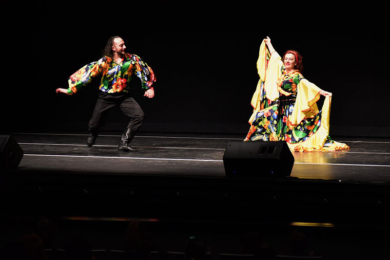 03-10-2019, Sunday March 10th 2019, Gypsy dancers, musicians, singers, Odell Williamson Auditorium, Brunswick Community College, Bolivia, North Carolina, 150 College Rd NE Bolivia NC 28422