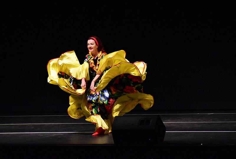Serhiy Tsyganok, Nadia Lemega, 03-10-2019, Sunday March 10th 2019, Gypsy dancers, musicians, singers, Odell Williamson Auditorium, Brunswick Community College, Bolivia, North Carolina, 150 College Rd NE Bolivia NC 28422