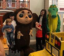 Cheburashka & Krokodil Gena, Чебурашка и Крокодил Гена, Hudson's House of Play, West New York, NJ