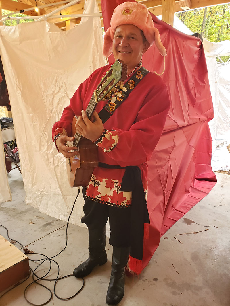 Mikhail Smirnov, Sixth Annual Slavic Heritage Festival in Harford County, Maryland, St. Mary's Assumption Eastern Rite Church, 2807 Mountain Road, Joppa, MD  21085