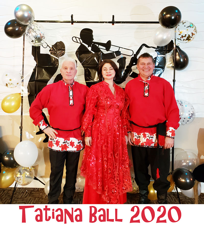 01-17-2020, Barynya Balaika Trio, Tatiana Ball 2020, Friday, January 17th, 2020, Parma, Ohio, Crystal Party Center Wedding Hall & Catering, 5745 Chevrolet Blvd, Parma, Ohio  44130, Leonid Bruk, Elina Karokhina, Mikhail Smirnov