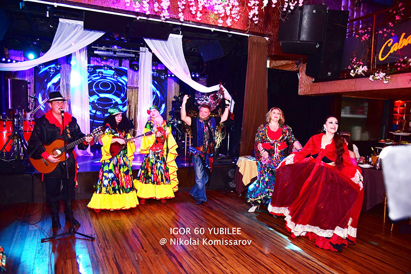 03-15-2020, March 15th, 2020, Brooklyn, New York City, New York based Russian Gypsy ensemble Moscow Gypsy Army, Restaurant Encore, 10007 4th Avenue, Brooklyn, New York  11209, Elina Karokhina, Mikhail Smirnov, Alisa Egorova, photo credit Nikolai Komissarov