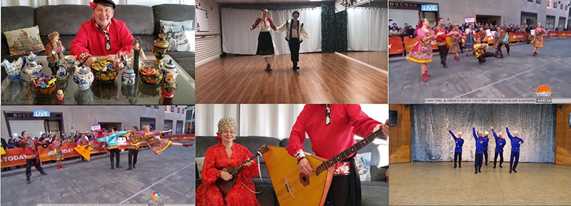 Russian dance, music, song ensemble Barynya, Artistic Director Mikhail Smirnov, 11-05-2020, Thursday, November 5th, 2020, Virtual performances, Evergreen Elementary School, San Jose, California