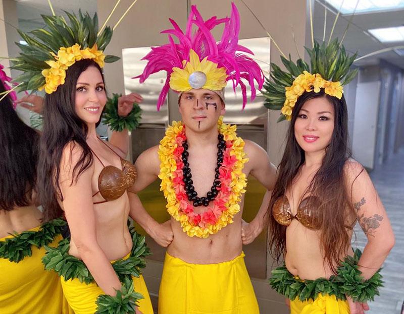 Hawaiian Hula and Fire Dancers Luau Show New Jersey, New York, Connecticut, Pennsylvania