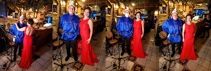 Friday December 4th 2020, Mikhail Smirnov, Elina Karokhina, Anyway Cafe NYC, 34 E 2nd St New York NY 10003, Russian Musicians NYC