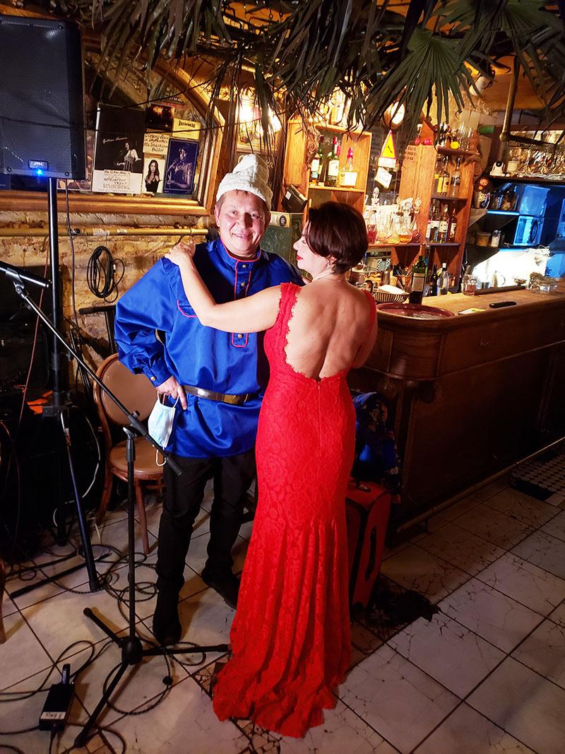 Russian Musicians NYC, Mikhail Smirnov, Elina Karokhina, Anyway Cafe NYC, 34 E 2nd St New York NY 10003, Friday December 4th 2020