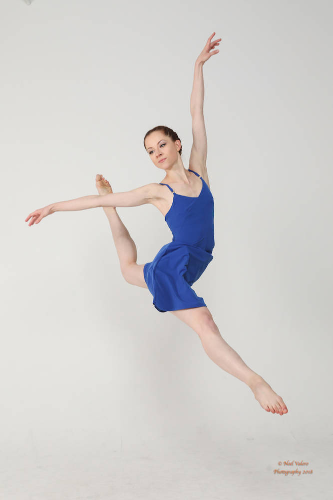 dancer Elena Notkina
