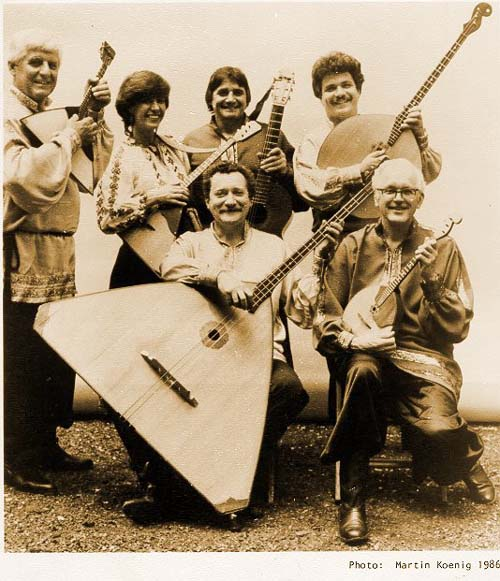 "Russian balalaika band ""The Balalaika Russe"" Photo by Martin Koenig"