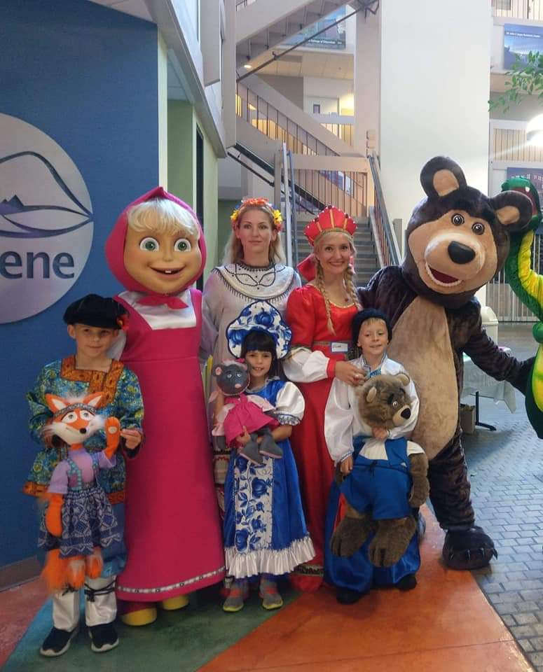 Masha and the Bear for kids parties in NYC, NY, NJ, CT, PA