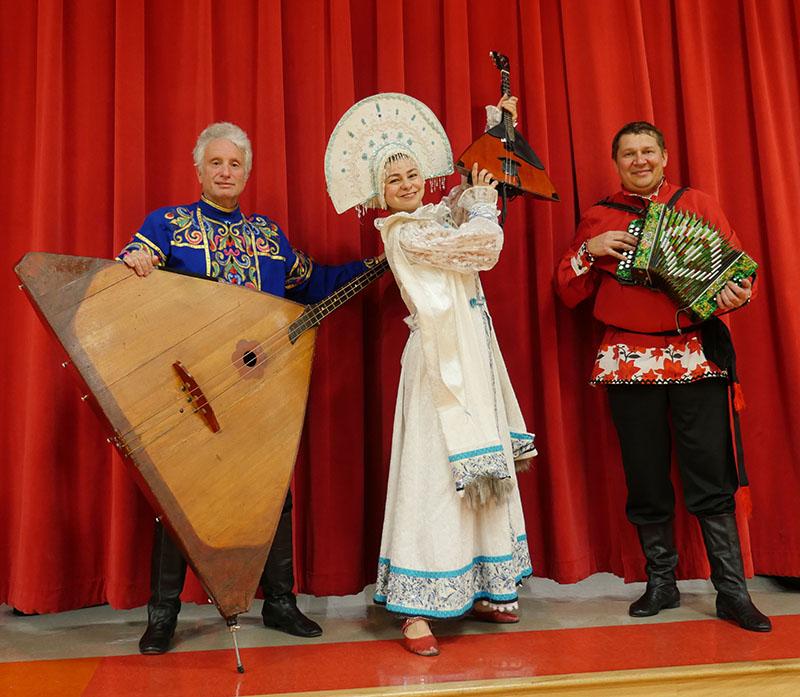 Leonid Bruk, Elina Karokhina, Mikhail Smirnov, Muhlenberg South Elementary School, Beechmont, Kentucky