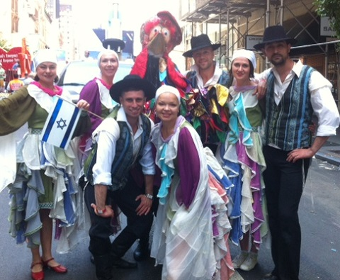 All photos and video from Celebrate Israel Parade NYC 2014