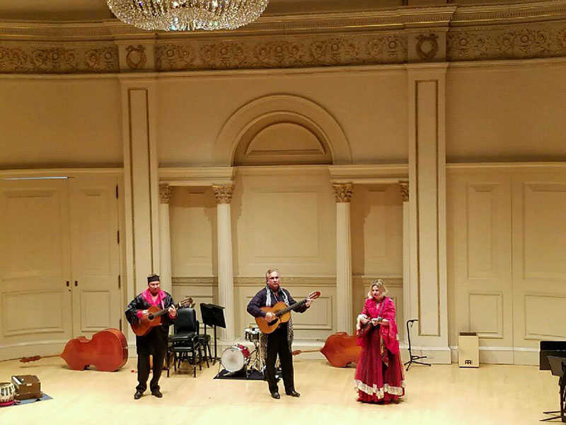 Moscow Gypsy Army, Mikhail Smirnov, Vasily Yankovich-Romani, Elina Karokhina, Carnegie Hall, New York City
