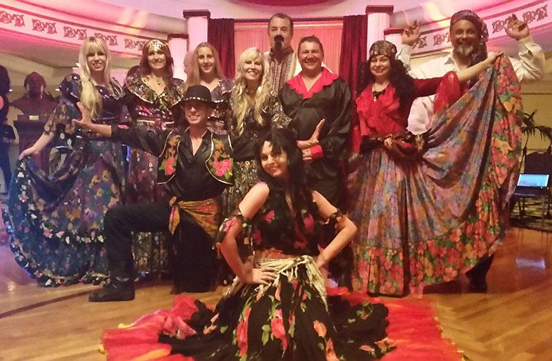 Moscow Gypsy Army, Alexander Rudoy, Elina Karokhina, Mikhail Smirnov, Anna Brovkina, Daryal Kafkasso's group, Clearwater, Florida
