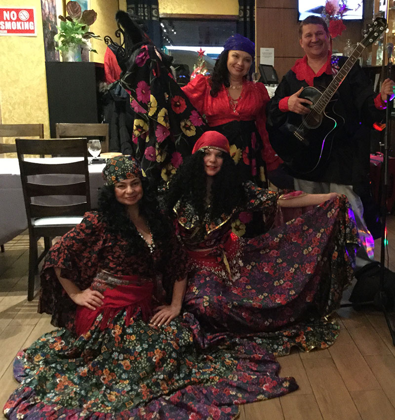 Gypsy song, dance, music group from Brooklyn, NY
