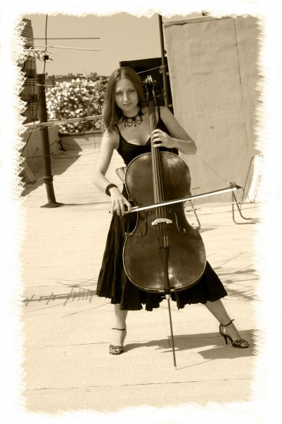 NYC Cello player Alexandra from New York City