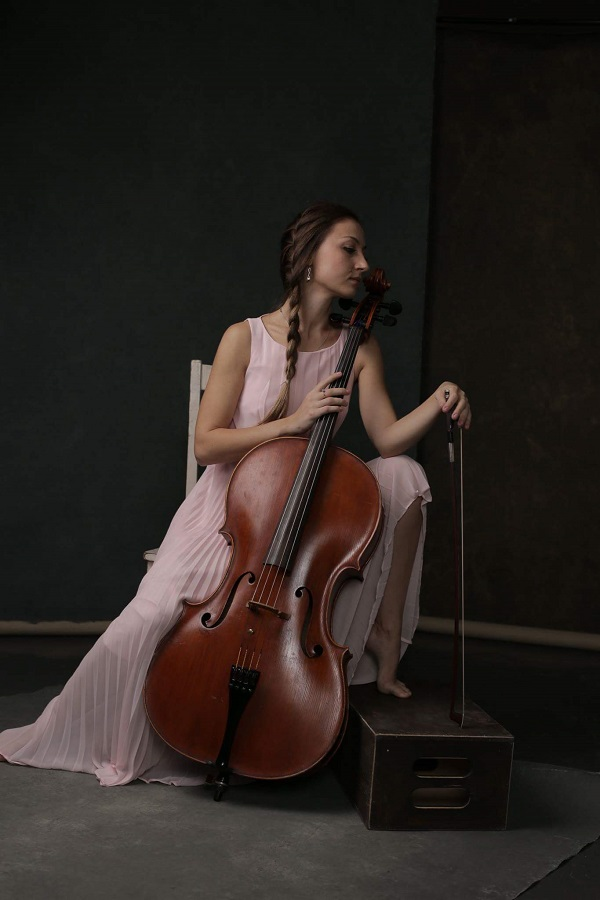 Cello player from New York City Alexandra