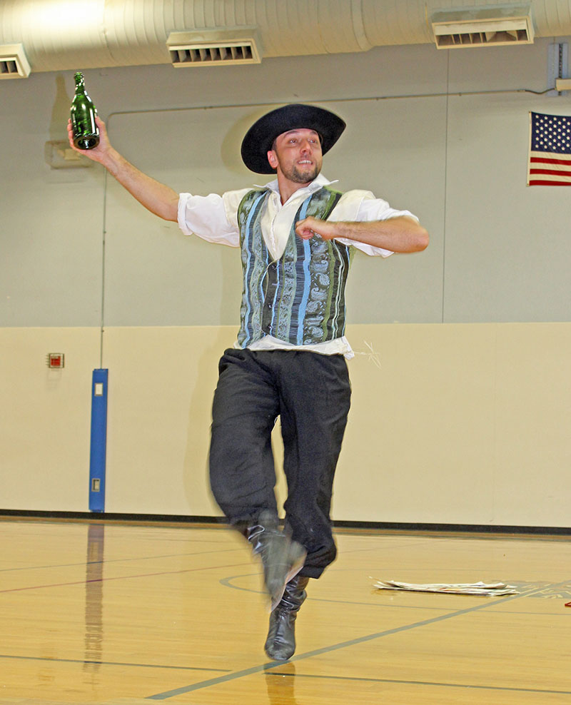 Serhiy Tsyganok, Jewish Bottle Dance, Sixth Grade Academy, Lovington, New Mexico, photo by Jaycie Chesser